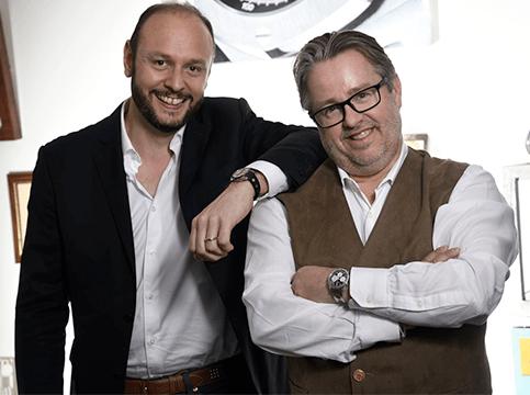 Jean-Christophe GUYON et Steven LIBERMANN - équipe VWS